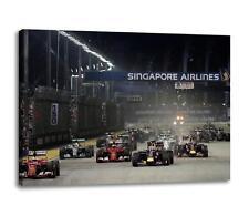"""Lewis Hamilton Mercedes F1 Toile Art Mural Affiche Photo Imprimé /"""" 30x /"""" 20"""