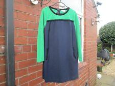BODEN Colour Block Tunic Dress Size 12 Regular
