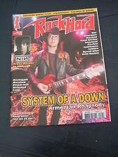 ROCK HARD 2005 44 SYSTEM OF A DOWN NINE INCH NAILS STEVE HACKETT EXTOL METALIUM