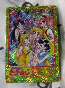 Vintage Rare 90s Vending Machine Sticker Sailor Moon R Tuxedo Holo Wedding Card