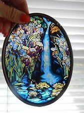 Tiffany Stained Glass Waterfall