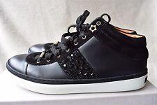 Jimmy Choo Woman Bells Leather Sneakers White Size 40.5 Jimmy Choo London z92B6