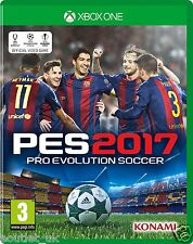 PES 2017 Xbox One Pro Evo Soccer Evolution BRAND NEW & SEALED