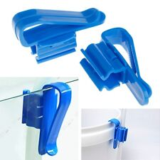 2Pcs Aquarium Fish Tank Water Tube Hose Mount Holder For 8-16mm Pipe Filtration