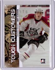 MATT CLACKSON 11/12 ITG Pre-Rookie Tough Customers Chicago Wolves #TC-04 Card