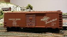 Athearn Ho Bb 40' Boxcar Canadian Pacific Kds, Metal Wheels, Exc