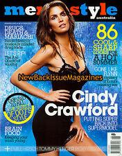 Australian Men's Style 6/08,Cindy Crawford,Lady GaGa,June 2008,NEW