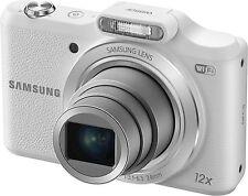 Samsung WB Series WB50F 16.2MP Digital Camera - White