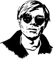 Sticker Andy Warhol 100 - 57x64 cm