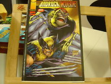 MARVEL CROSSOVER N°1 BE/TBE BADROCK WOLVERINE