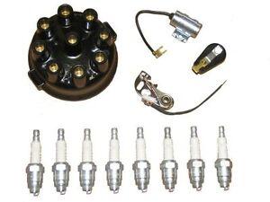 Tune Up Kit & Spark Plugs 46 47 48 Cadillac V8 NEW 1946 1947 1948