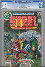 Steel the Indestructible Man #5  CGC 9.6 W DC '78 Last Issue