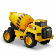"""Perfect Gift for Kids New High Quality CAT Power Haulers 12"""" Cement Mixer Toy"""