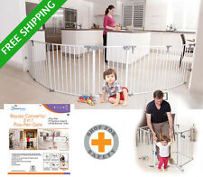 DREAMBABY PLAYPEN ROYALE CONVERTA 3 IN 1 wide barrier gate  3 .7m wide play-yard