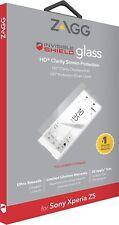 Genuine ZAGG Sony Xperia Z5 InvisibleShield Tempered Vidrio Protector De Pantalla Hd