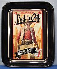 Bud Beer Tray ~ Gun Slinger Marshal ~ Texas Cowboy