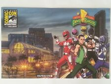 SDCC Comic Con 2014 EXCLUSIVE / RARE Mighty Morphin Power Rangers  Poster