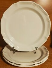 "Mikasa FRENCH COUNTRYSIDE Dinner plate set of 3, 10 5/8"", P9000"