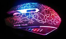 Gamer optische Magie LED Gaming Maus ( USB u. Beleuchtet ) Schwarz