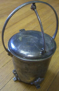 Antique Mohan Meakin Brewery, Ltd, Silver Plated Cigar Box or Ice Bucket c.1900