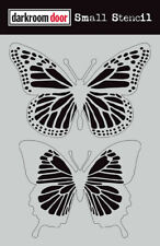 Darkroom Door Small Stencil Butterflies 4.5 X 6