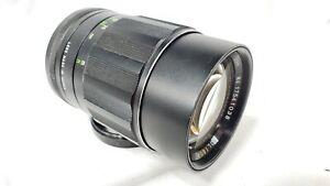 Vintage Soligor 135mm Tele-Auto 135mm f/2.8 Telephoto Lens for Minolta MD. Japan