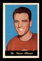 1960-61 Parkhurst #26 Norm Ullman FPHC** NM X1320256