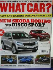 WHAT CAR? MAGAZINE MARCH 2017 KODIAQ LAND ROVER DISCOVERY TOYOTA LAND CRUISER