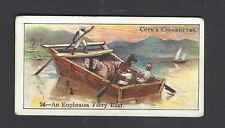 COPE - BOATS OF THE WORLD - #24 AN EUPHRATES FERRY BOAT