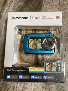 "Polaroid Waterproof Camera 14MP 5x Digital Zoom w/1.8"" Front & 2.7"" Rear Display"
