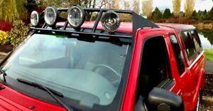 For 1993-2012 Ford Ranger custom pre runner style curved roof mounted light bar