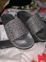 INC International Concepts Women's Peymin2 Pool Slide Sandals Size 8  Lt Rose.