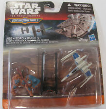 STAR WARS - Micromachines - The Force Awakens - 3er Pack - X-Wing,Kylo Ren,Lugga