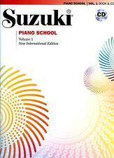 """SUZUKI PIANO SCHOOL"" MUSIC BOOK & CD VOLUME 1 NEW EDITION BRAND NEW ON SALE!!"