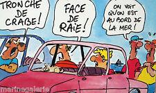 Cartes postales Bretagne illustrateur dessin humoristique breton NONO lot de 6