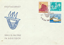 1962 SEAFARING ILLUSTRATED UNADDRESSED FIRST DAY COVER SHS