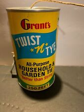 Vintage Grants Twist N Tie Household & Garden Tie Nearly Full Can