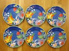 6 Pioneer Woman Celia Stoneware Dinner Plates EXC