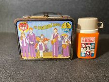 1971 King Seeley The Partridge Family Vintage Metal Lunch Box And Thermos Rare