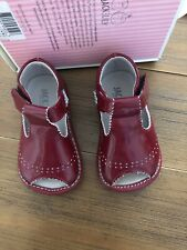 baby girl shoes 6-12 Months jack And Lily . Red Patten Leather