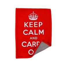 Smartie Microfiber Cleaning Cloth for iPad/iPhone - Keep Calm And Carry On