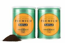 Cafe Saula Premium Organic Ground Coffee - 100% Arabica Spanish Espresso Blend