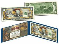 American CIVIL WAR * Battle of Fort Sumter * Legal Tender U.S. Colorized $2 Bill