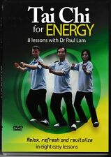 Tai Chi For Energy - RELAX - REFRESH - REVITALISE - 8 Lessons Dr Paul Lam - DVD