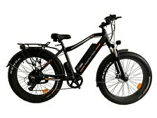 PowerMax Electric Bike Super Fast Powerful 1000W Motor. Fat Tire E-Mountain Bike