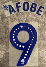 Stoke City - Benik Afobe - EFL Sky Bet 2018/19 - 2019/20 Shirt Name & Number Set