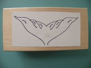 Mermaid or Whale Tail Rubber Stamp