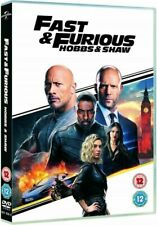 Fast & Furious Presents:  Hobbs & Shaw Region (DVD, 2019)