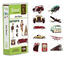 Cricut Cartridge - Art Deco - Vintage Cars, Transport, Plane, Cruise Ship, Train