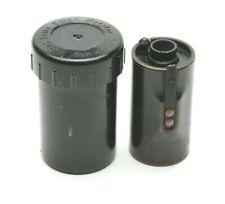 Vintage Leitz Leica 35mm Film Cassette With Original Plastic Case. Used.